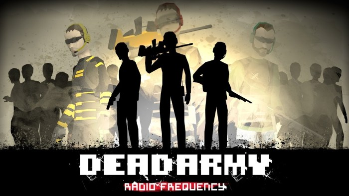 PREVIEW: Dead Army – Radio Frequency